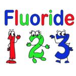 Fluoride 1 2 3 in Cartoon Figures